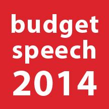 Budget Speech 2014: good news