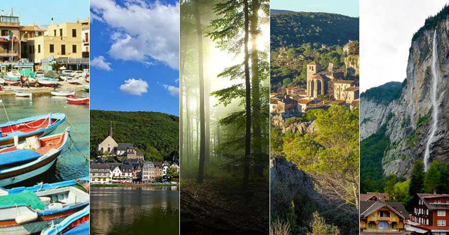 Five European destinations where you can get away from it all