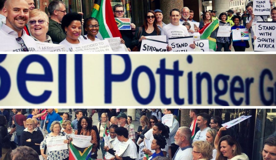 SA expats rally to defend their home country
