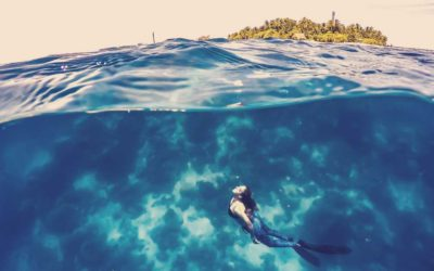 Focus on the freediver from South Africa: Hanli Prinsloo