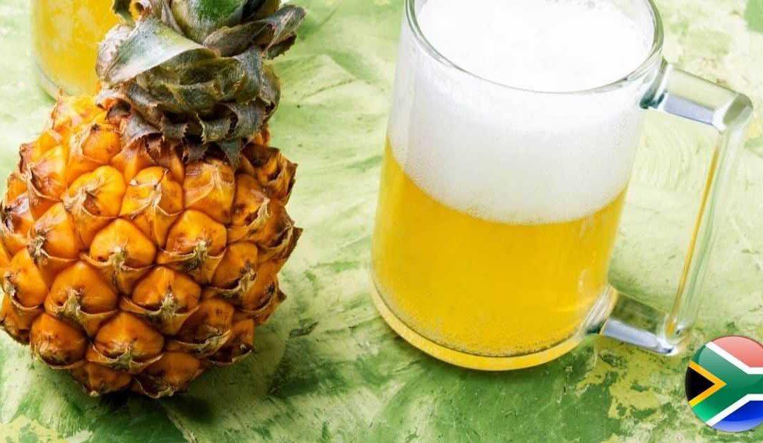 Delicious pineapple beer recipe
