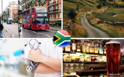 Emigrating from South Africa to UK