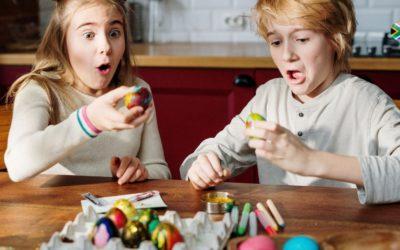 Repurposing Easter eggs